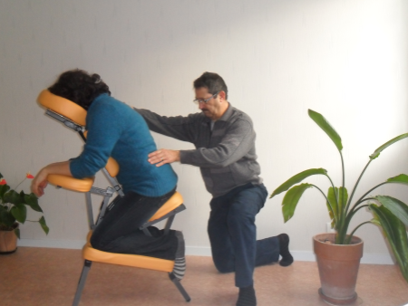 Photo Massage assis